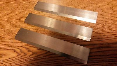 "High Speed Steel Planer Knives For 13"" Jet/grizzly Set Of 3"