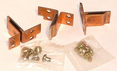 New Set of 3 GE Thermal Overload Heaters CR123F174C F174C 174C