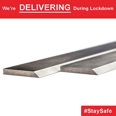 1 pair 150mm x 20mm x 2.5mm HSS Planer Blades Knives for Kity K5 & 535