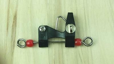 1 x Outrigger / Downrigger / Kite Release Clip NEW HIGH VIS RED BEAD Top Quality