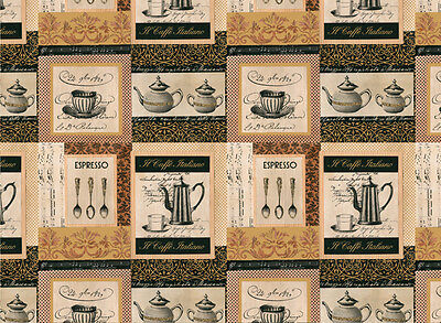 Rossi Caffe Italiano Wrapping Paper