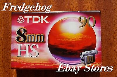 A TOP QUALITY TDK P5-90HS(High Standard) 8mm/ Hi8 VIDEO CAMCORDER TAPE/ CASSETTE
