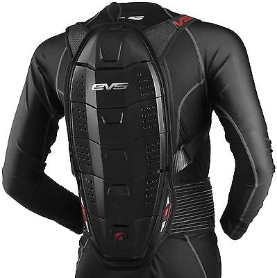 EVS Race Back Protector Black S/M L/XL saftey gear motorcycle mx atv offroad