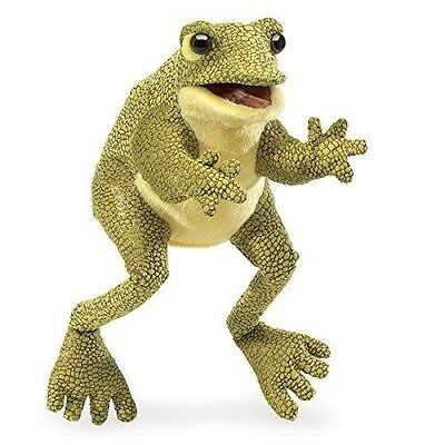 Folkmanis Funny Frog Hand Puppet