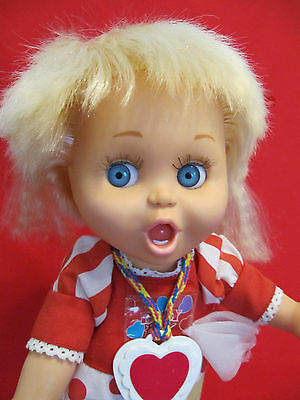 "1990 13"" Galoob Baby Face Doll ""So Surprised Suzie"" #2 in series"