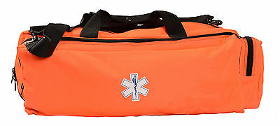 "Oxygen O2 Gear Bag for Emergency EMT ALS BLS EMS Main Compartment is 25""x10""x9"""