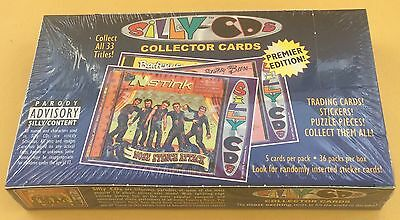 2001 Silly Productions Silly CDs Trading Cards Wax Box