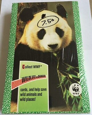 1992 Panini Canada Wildlife In Danger Trading Cards Wax Box