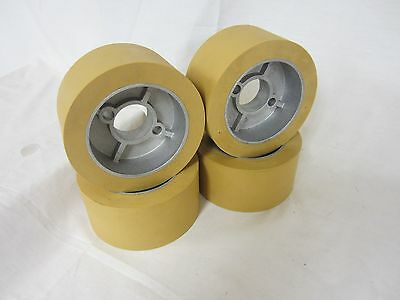 Rubber Power Feeder Roller Wheels (RO-12) Set of 4 for most 1HP Feeders
