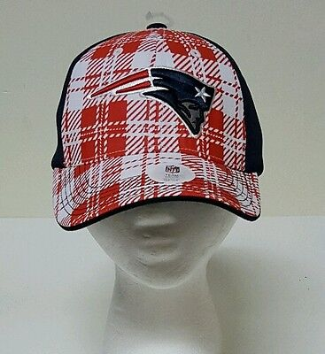 New England Patriots NFL Adult Adjustable Curved Brim Team Logo Hat/Cap