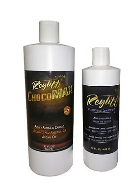 Keratin Treatment chocomax 32 oz+16 oz purifying champoo