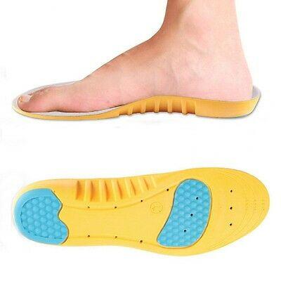 Unisex Memory Foam Shoe Insole Orthotic Arch Support Soft Heel Cushion insert