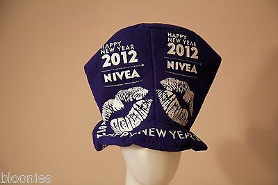 New York City Times Square New Year's Eve 2012 Nivea Party Hat