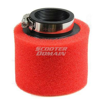 Air Filter - 45mm, Dual Layer Pod Air Filter - Scooters, ATVs, Motorcycles & mor