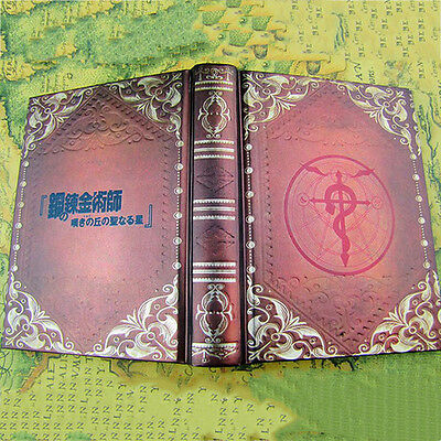Japan Anime Fullmetal Alchemist Edward Note Book Cartoon Dialy Note Book