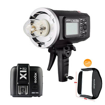 Godox AD600BM 600W HSS Flash Strobe Bowens Mount w/ X1T-C Transmitter for Canon