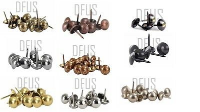 Decorative upholstery furniture studs nails 10.5mm domed head 1660 CAG range