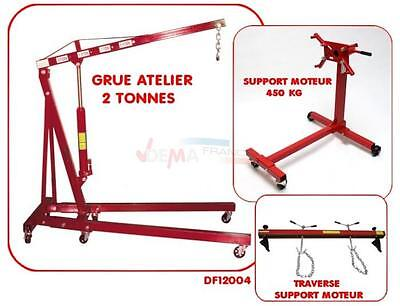 Set - Grue Atelier 2 T - Support moteur 450 kg - Traverse DF12004