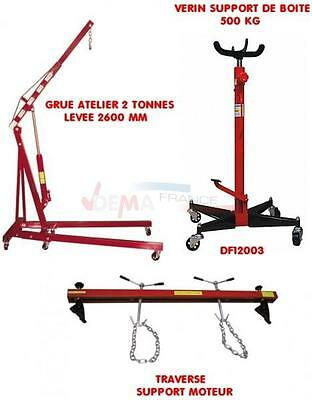 Set - Grue Atelier 2 T - Support de boite - Traverse DF12003