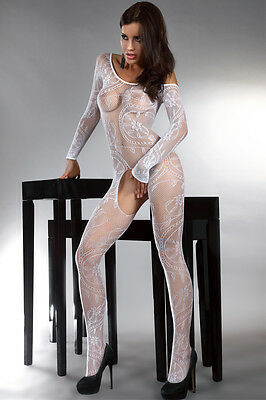 sexy Catsuit Stocking String Body Teddy Ganzkörper Strumpfhose Nylons  <710> • EUR 14,49