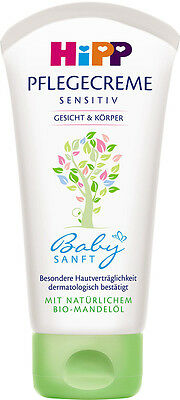 HIPP - Intensive Care Cream for Face and Body - 75 ml - German Product