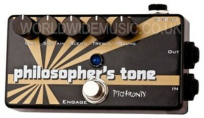 Pigtronix Philosophers Tone - Compressor Sustainer & Distortion Effects pedal
