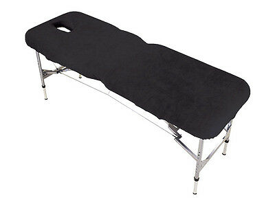 Black Couch Cover for Massage Table with Breathe Hole