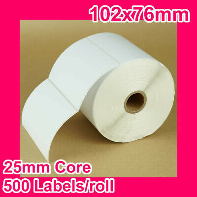 8 rolls of 102x76mm Thermal Direct Label for Zebra/TSC/SATO
