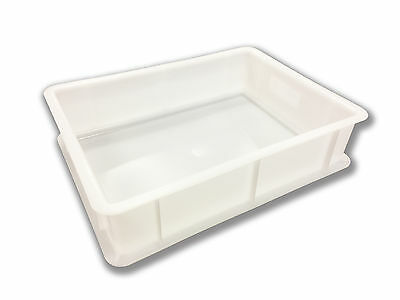 Hygeinic Stackable Durable Dough Ball Proving Trays (30x40x10cm)