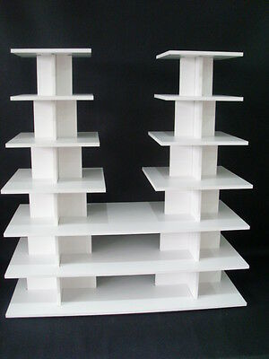 8mm strong wedding birthday white cup cake cupcake stand 7 tier shop display7