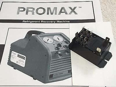 Tank Full Relay, 8 Terminals, Refrigerant Recovery Unit Promax RG6000