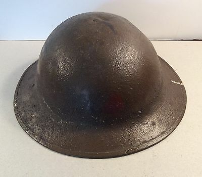 Original WWI US Army M1917 Painted 5th Division Helmet with Liner