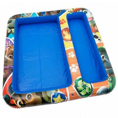 Paw Patrol Childrens Kids Inflatable Sand And Water Play Mat Pit Garden Toy Game