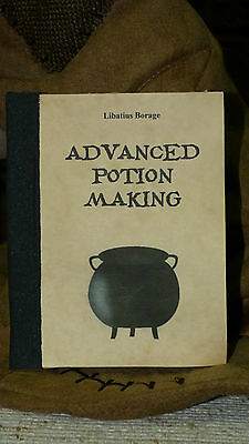 Harry Potter book:  Advanced Potion Making