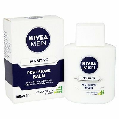 Nivea For Men After Shave Soothing Balm 100ml Sensitive Skin free shipping