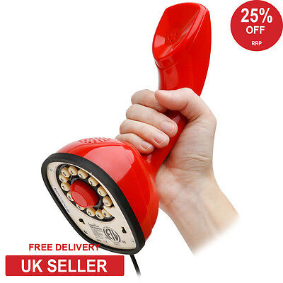 Wild & Wolf Scandi Retro Classic 1960's Phone - Red