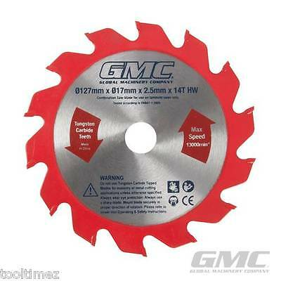 127mm x 17mm Laminate Flooring Saw Blade 14T 470088