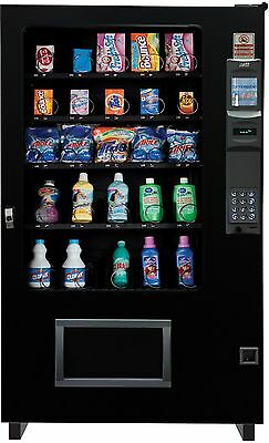 Laundry Detergent Dispensing Glass Front Vending Machine 5 Wide Brand New