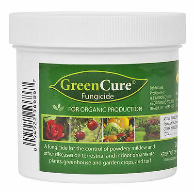 GreenCure 8 oz Powdery Mildew Fungicide Green Cure - Mold PM Blight Diseases