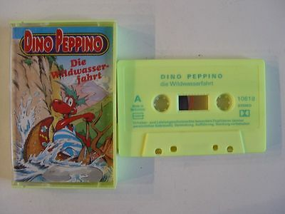 DINO PEPPINO 18 Die Wildwasserfahrt MC Kassette MJ Made in Switzerland
