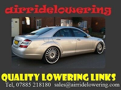 MERCEDES S CLASS 2006-2014 W221 ABC/AIR  Suspension Lowering Links Full Kit