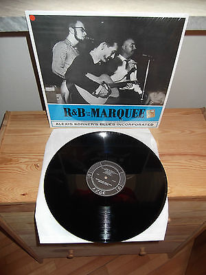 "ALEXIS KORNER'S BLUES INCORPORATED ""R & B From The Marquee"" LP DOXY ITA 2012"