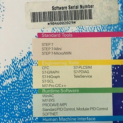 Siemens, 6Es7671-0Cc01-0Yx0, Software Winac Basis V3.0.1 Hf2