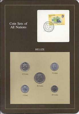 Coin Sets of All Nations, Belize