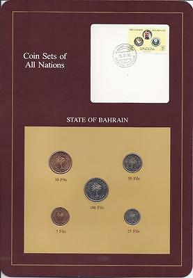Coin Sets of All Nations - Bahrain 5 coin set