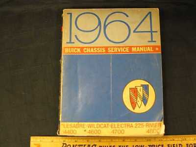 1964 Buick Series 4400-4800 Chassis Shop Manual
