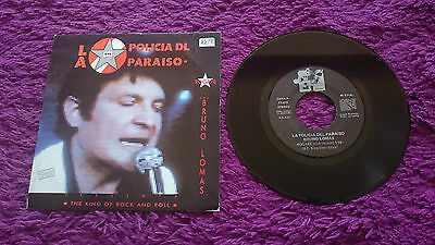 La Policia Dl Paraiso & Bruno Lomas ‎– The King Of Rock And Roll , Vinyl, 7""