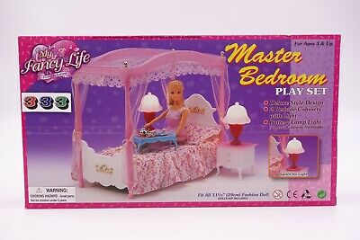 Gloria, Barbie Size Doll House Furniture/(2314) Master Bedroom