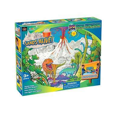 Play Visions Sands Alive! 3-D Dino Kingdom, New