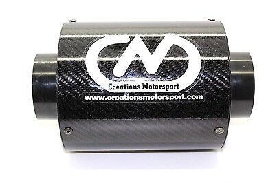 Universal Carbon Fibre Airbox Performance Induction Air Filter W 132mm x  H175mm